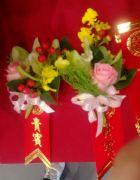 東亞蘭玫瑰胸花