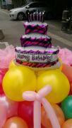 生日快樂氣球花束