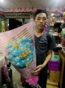 21顆金莎花束~藍色款